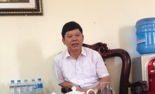 Chu tich huyen o Thanh Hoa qua doi sau khi bi nga hinh anh 1