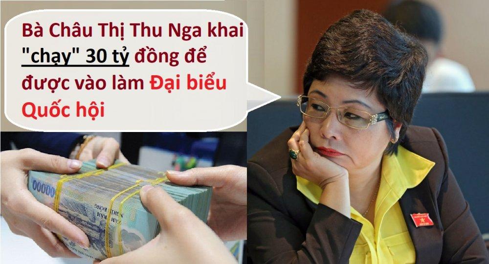 Ba Chau Thi Thu Nga khai 'chay' DBQH 30 ty dong: 'Phai lam ro dua cho ai, dua bao nhieu' hinh anh 1