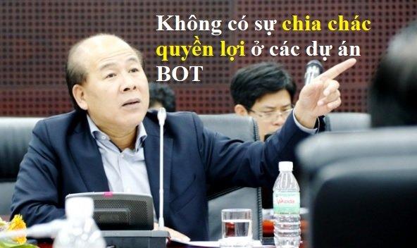 Nghi ngo loi ich nhom trong du an BOT, Thu truong GTVT: 'Khong co su chia chac quyen loi' hinh anh 1