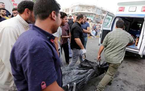 Hon 130 nguoi chet trong vu danh bom dam mau o Baghdad, Iraq hinh anh 1