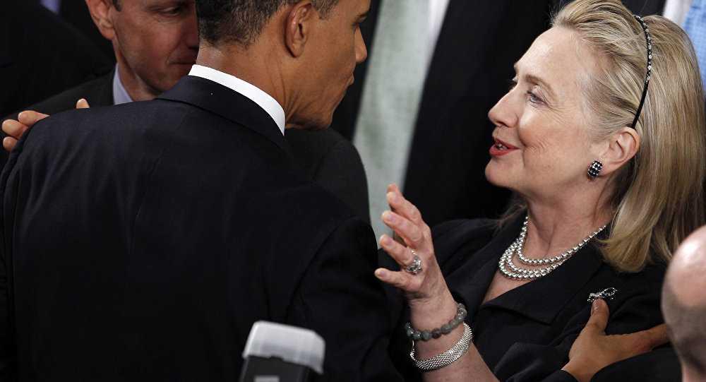 Clip: Obama khen ngoi, tin tuong ba Clinton se la Tong thong My hinh anh 1