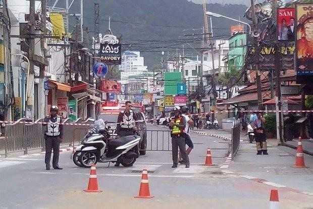 Danh bom lien tiep dien tai Phuket, Thai Lan hinh anh 1