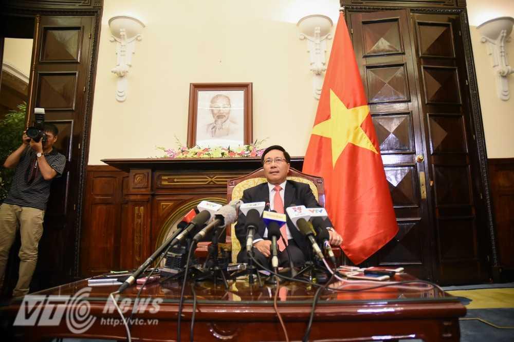 Pho Thu tuong Pham Binh Minh: Viet Nam khong de loi keo vao bat cu lien minh nao hinh anh 1