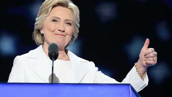 Neu bau cu tong thong My hom nay, ba Hillary se thang hinh anh 1