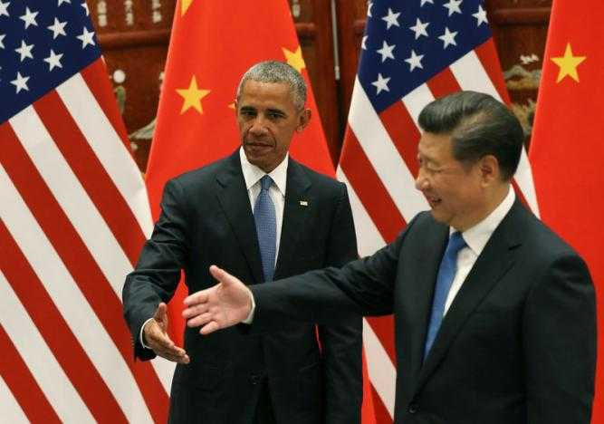 Obama gia tang suc ep len Trung Quoc ve van de Bien Dong truoc them G20 hinh anh 1