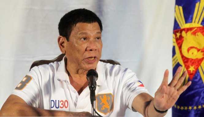 My chan chinh Tong thong Philippines Rodrigo Duterte hinh anh 1
