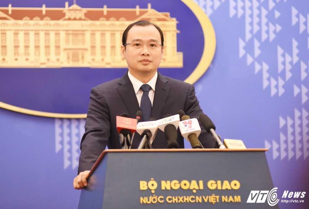 Trung Quoc ap dung quy che nghi danh ca vi pham chu quyen Viet Nam, Bo Ngoai giao len tieng hinh anh 1