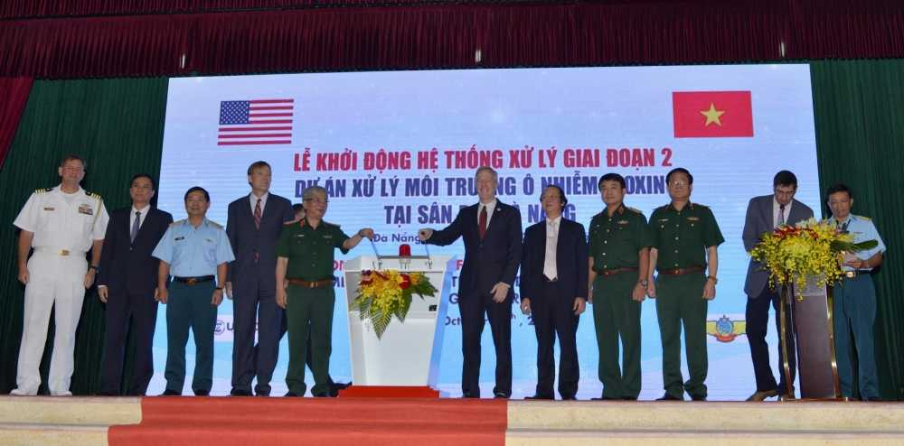 Viet Nam va My bat dau xu ly o nhiem dioxin giai doan 2 o san bay Da Nang hinh anh 1
