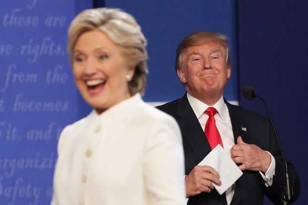 Ket qua tranh luan bau cu Tong thong My lan 3: Clinton goi Trump la con roi cua Putin hinh anh 2