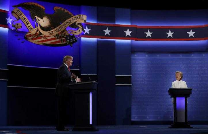 Ket qua tranh luan bau cu Tong thong My lan 3: Clinton goi Trump la con roi cua Putin hinh anh 13