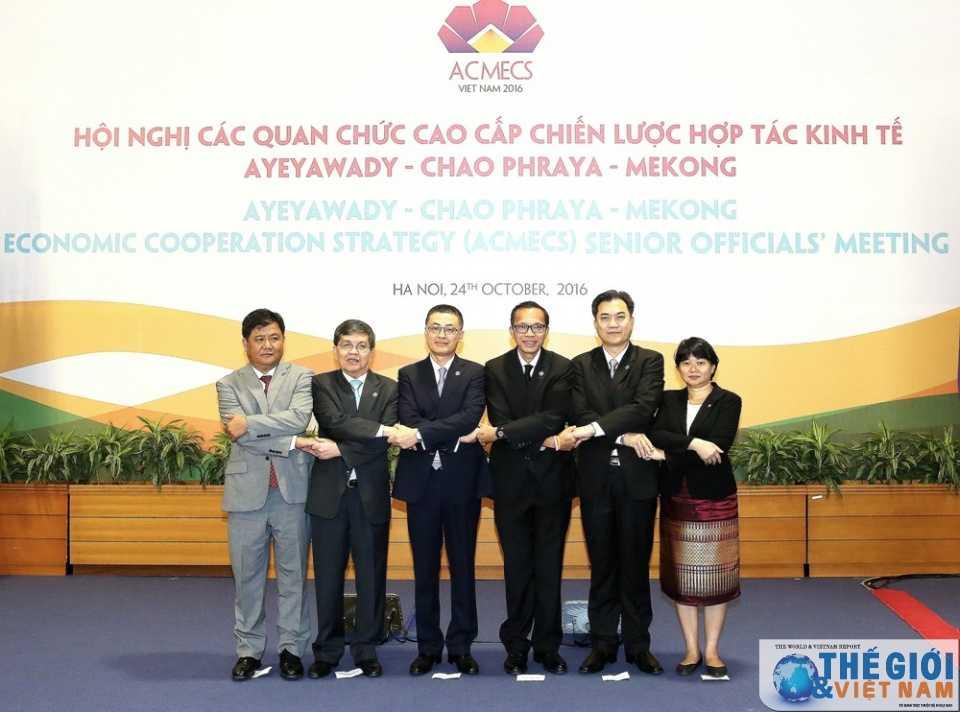 Quan chuc cap cao nhieu nuoc ASEAN nhom hop truoc Hoi nghi CLMV 8 va ACMECS 7 hinh anh 2