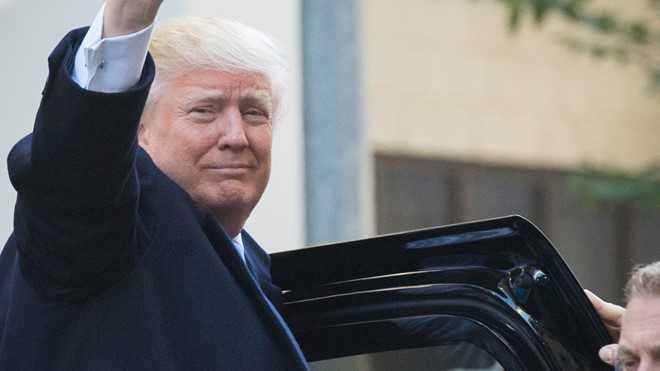 Ong Donand Trump se lam gi trong thoi gian chuyen giao quyen luc? hinh anh 1