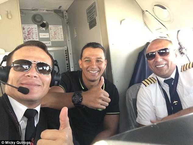 Roi may bay vi het xang o Colombia: Xuat hien hang loat nghi van hinh anh 1