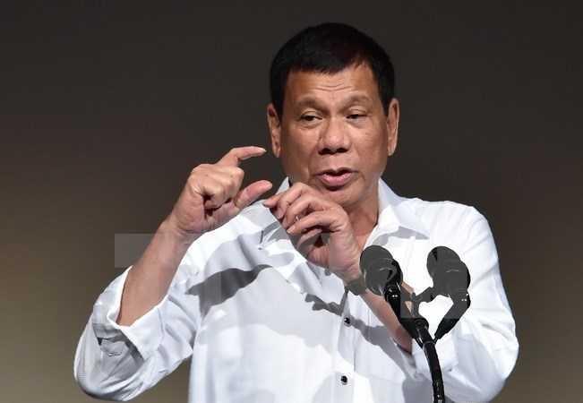 Tong thong Duterte khang dinh duy tri chien dich chong ma tuy hinh anh 1