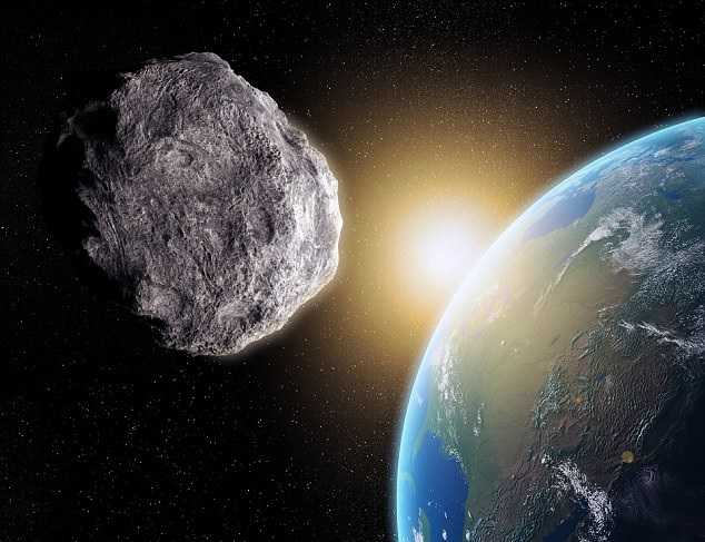 NASA phat hien 2 thien thach khong lo dang lao ve phia Trai dat hinh anh 1
