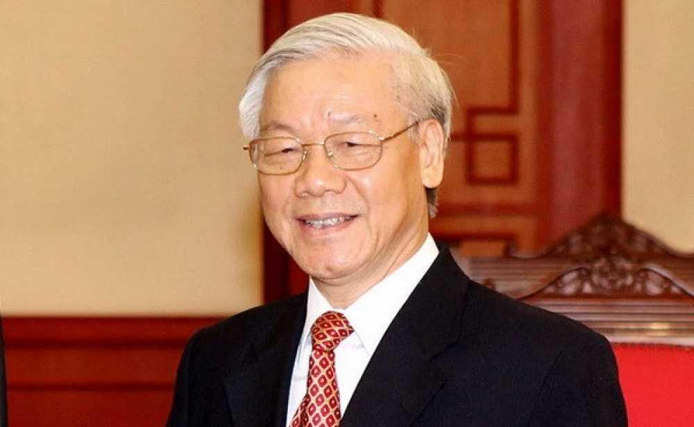 Tong Bi thu Nguyen Phu Trong tham chinh thuc Trung Quoc hinh anh 1