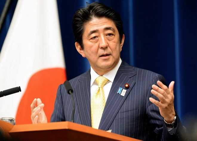 Thu tuong Nhat Ban Shinzo Abe sap den My gap ong Trump hinh anh 1