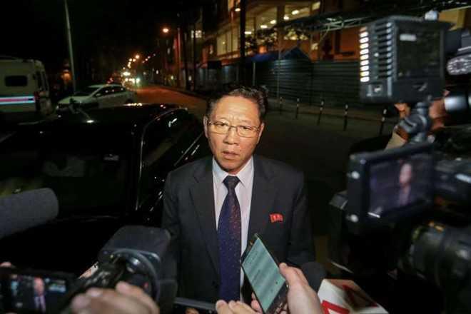 Malaysia trieu tap dai su Trieu Tien vi vu ong Kim Jong-nam hinh anh 1