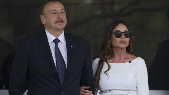 Tong thong Azerbaijan bo nhiem vo lam pho Tong thong hinh anh 1