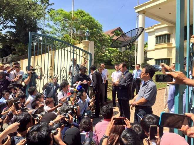Thong tan Trieu Tien noi Malaysia co loi trong vu Kim Jong-nam hinh anh 1