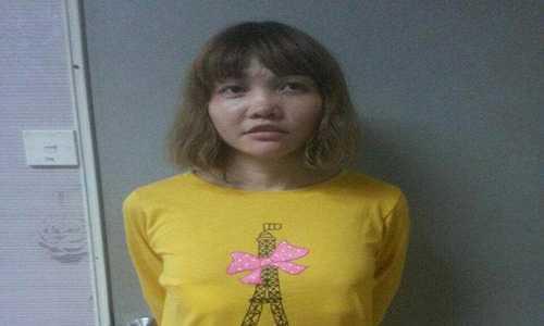Nghi pham Doan Thi Huong khai bi loi dung trong vu tan cong Kim Jong-nam hinh anh 1