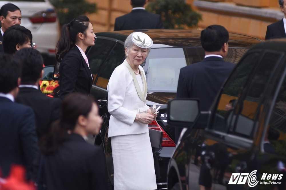 Anh: Le don Nha vua va Hoang hau Nhat Ban hinh anh 1