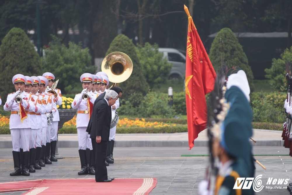 Anh: Le don Nha vua va Hoang hau Nhat Ban hinh anh 3