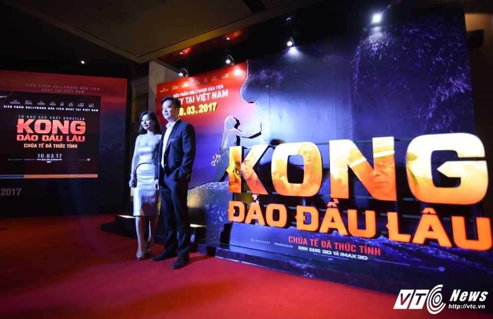 Hoa hau My Linh, Dai su My Ted Osius choang ngop truoc bom tan 'Kong: Skull Insland' hinh anh 9