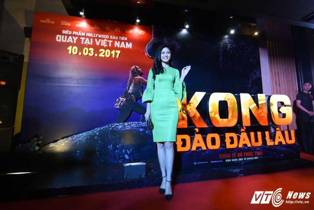 Hoa hau My Linh, Dai su My Ted Osius choang ngop truoc bom tan 'Kong: Skull Insland' hinh anh 5