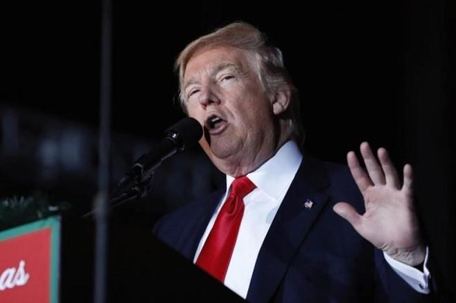 Ong Trump tang ngan sach quoc phong, cat giam manh ngoai giao hinh anh 1