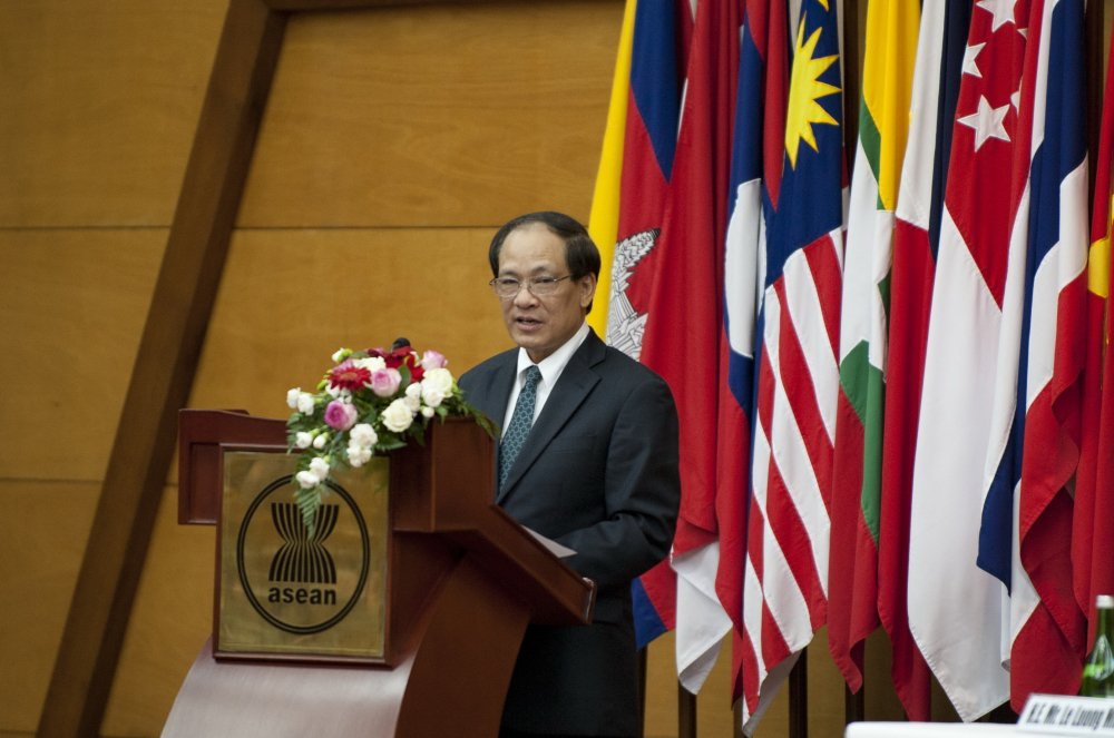 Tong thu ky ASEAN len tieng sau khi Trieu Tien cau cuu hinh anh 1