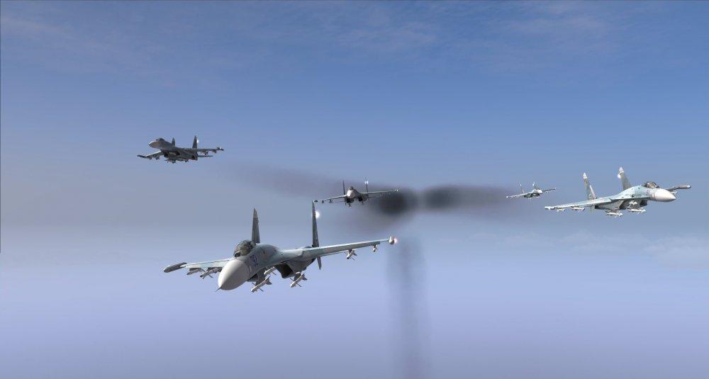 Chua tung co: Nu phi cong tiem kich Su-27 ban ha thay giao tren MiG-29 hinh anh 1