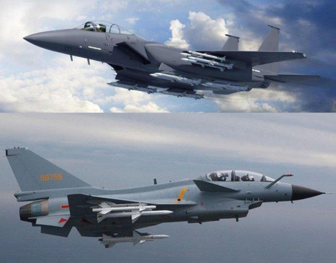 My nang cap F-15 de dam bao uu the truoc J-10 cua Trung Quoc hinh anh 1