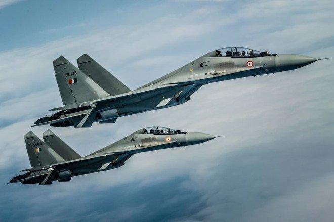 Su-30 An Do mat tich gan bien gioi Trung Quoc hinh anh 1