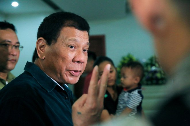 Tong thong Duterte: IS da den Philippines hinh anh 1