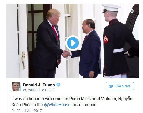 Tong thong Trump: 'Toi vinh du don Thu tuong Viet Nam Nguyen Xuan Phuc o Nha Trang' hinh anh 1