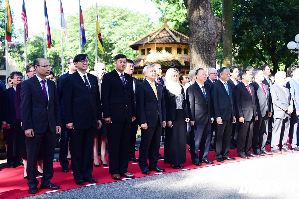 Le thuong co ASEAN tai Ha Noi hinh anh 1