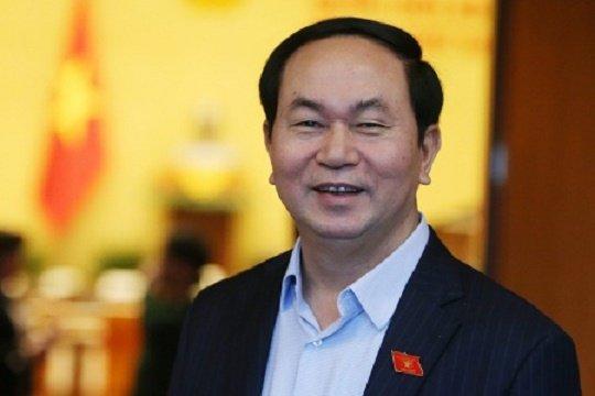 Chu tich nuoc Tran Dai Quang tra loi phong van nhan ky niem 55 nam quan he Viet - Lao hinh anh 1
