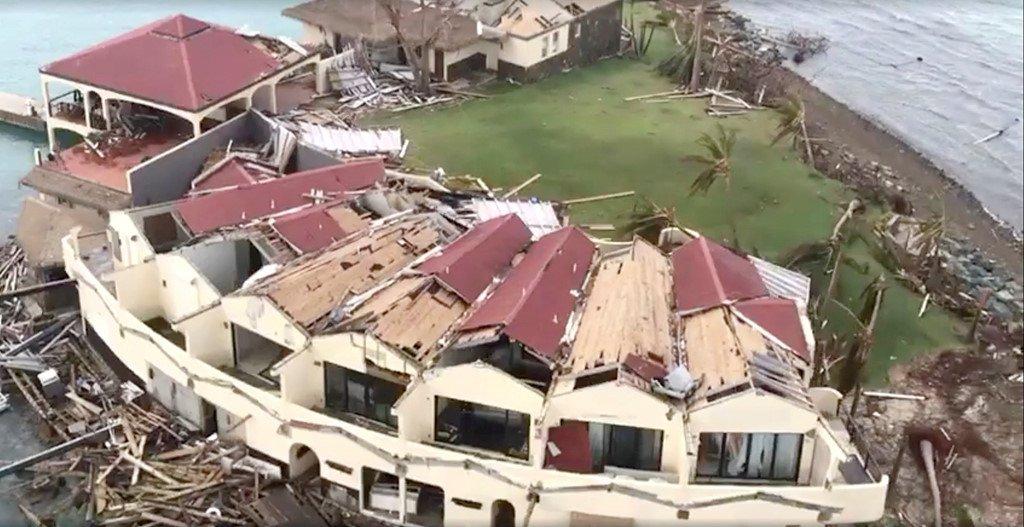 Vua bi Irma tan pha, Caribe lai gong minh don sieu bao moi hinh anh 1