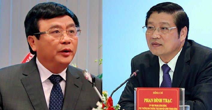 Ong Phan Dinh Trac va Nguyen Xuan Thang duoc bau bo sung vao Ban Bi thu hinh anh 1