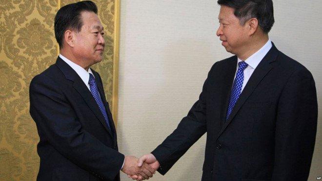 Tong thong Trump noi Trung Quoc khong co anh huong gi den Trieu Tien hinh anh 1