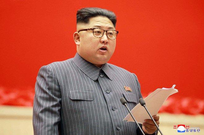 Ong Kim Jong-un noi Trieu Tien co the de doa hat nhan dang ke voi My hinh anh 1