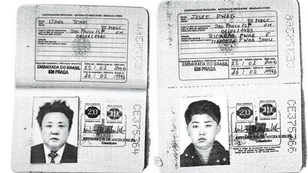 Nghi van cha con ong Kim Jong-un tung dung ho chieu Brazil xin visa phuong Tay hinh anh 1