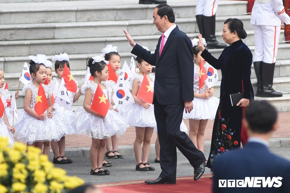 Anh: Le don Tong thong Han Quoc Moon Jae-in hinh anh 1