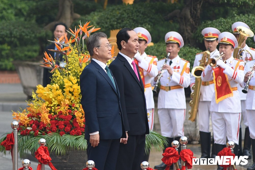 Anh: Le don Tong thong Han Quoc Moon Jae-in hinh anh 3