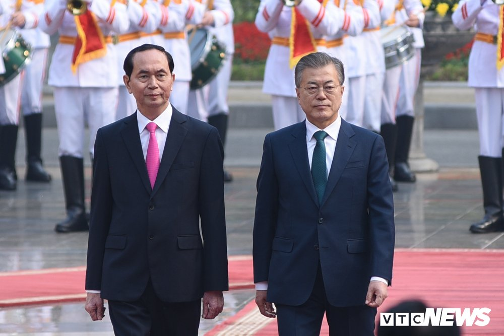 Anh: Le don Tong thong Han Quoc Moon Jae-in hinh anh 6