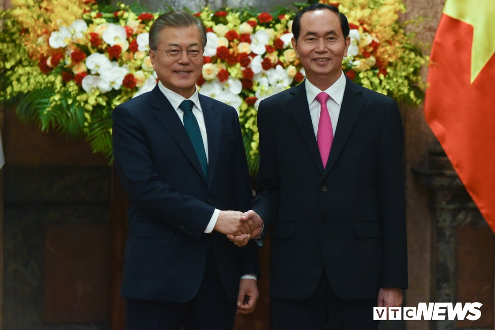 Anh: Le don Tong thong Han Quoc Moon Jae-in hinh anh 7