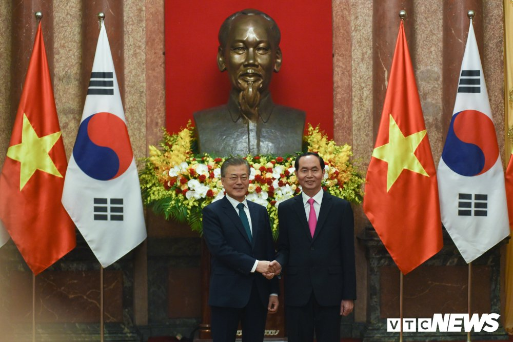 Anh: Le don Tong thong Han Quoc Moon Jae-in hinh anh 8