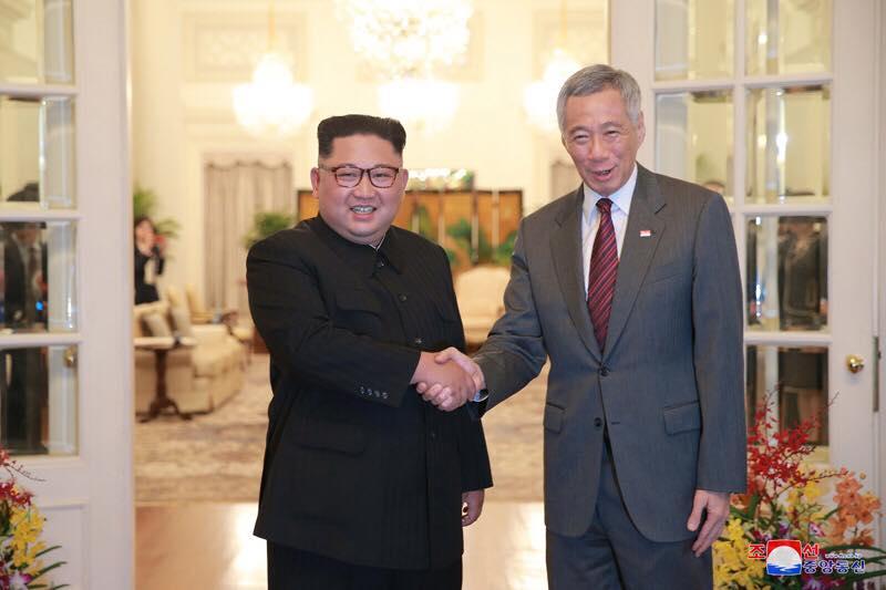 Truyen thong Trieu Tien dang tin chinh thuc dau tien ve lich trinh cua lanh dao Kim Jong-un tai Singapore hinh anh 1