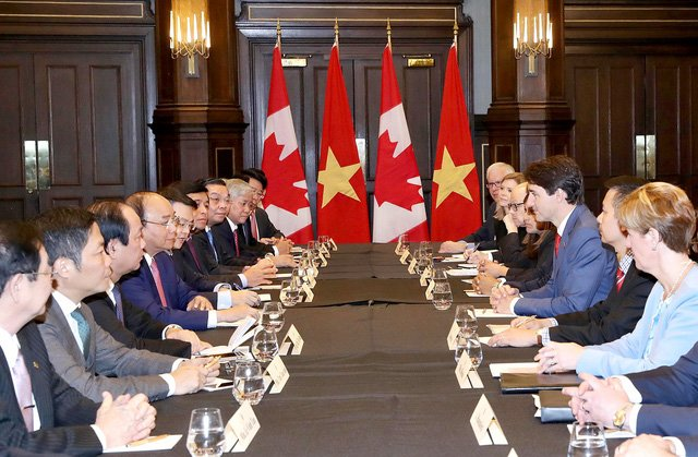 Thu tuong Canada an tuong sau sac ve dat nuoc, con nguoi Viet Nam hinh anh 2